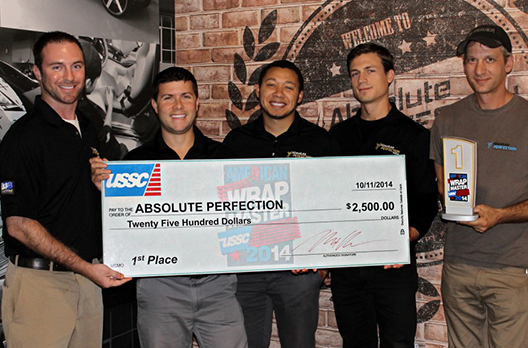 Absolute Perfection Wins First Place in USSC Wrap Competition for Rossi Truck Design