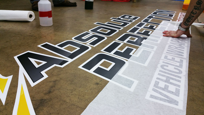 Floor graphics in sykesville columbia and baltimore md for Flooring company columbia md