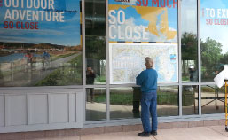 Perforated Window Film Graphics | Washington DC, Maryland, and Virginia