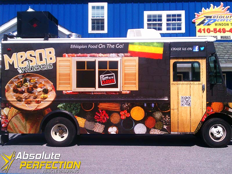 Absolute Perfection Vehicle Wrapping Mesob on Wheels4
