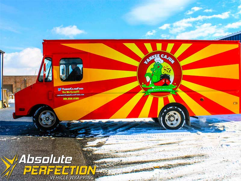 Custom Graphics - Food Truck Wraps - Absolute Perfection
