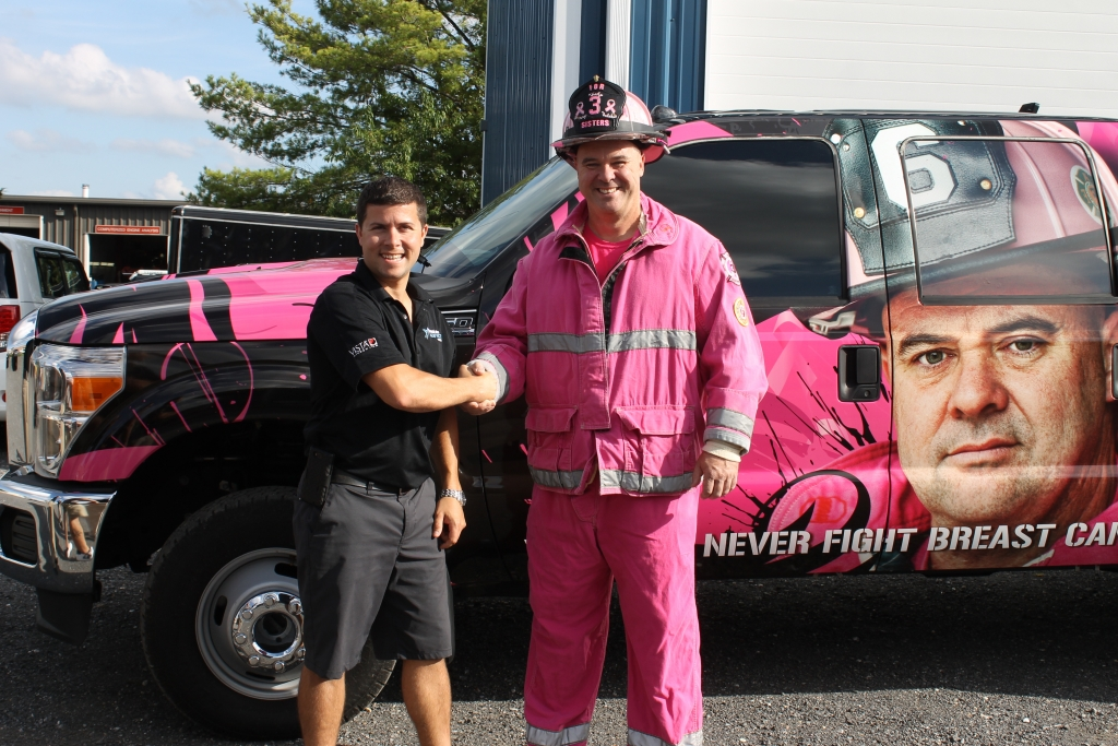 For 3 Sisters Vehicle Wrap