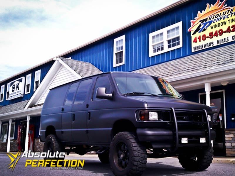 Matte-Black-Express-Van