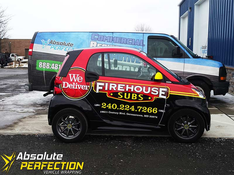 Vehicle Wrap - Vinyl Graphics - Absolute Perfection