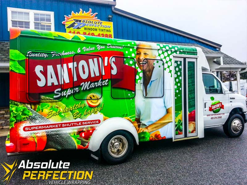 Vehicle Wrapping - Bus Wrap - Absolute Perfection1