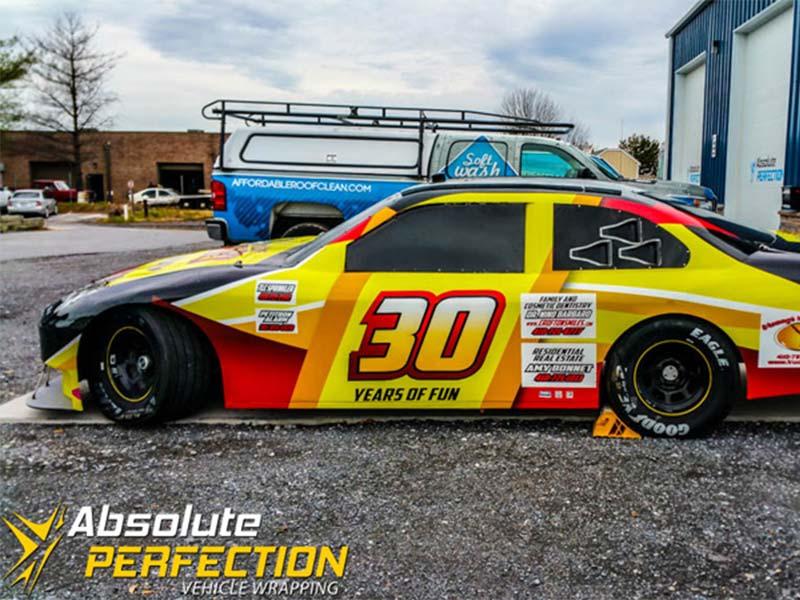 Go Kart Raceway Racecar Vehicle Wrap Absolute Perfection5