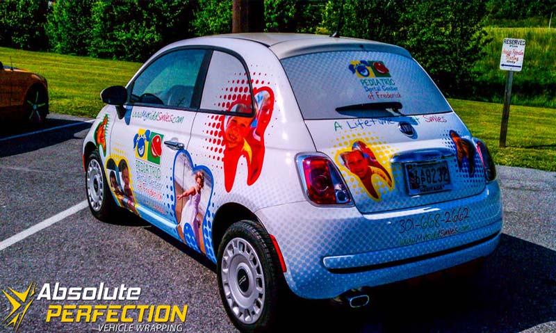 My Kidd Smiles Advertising Wrap Frederick Md