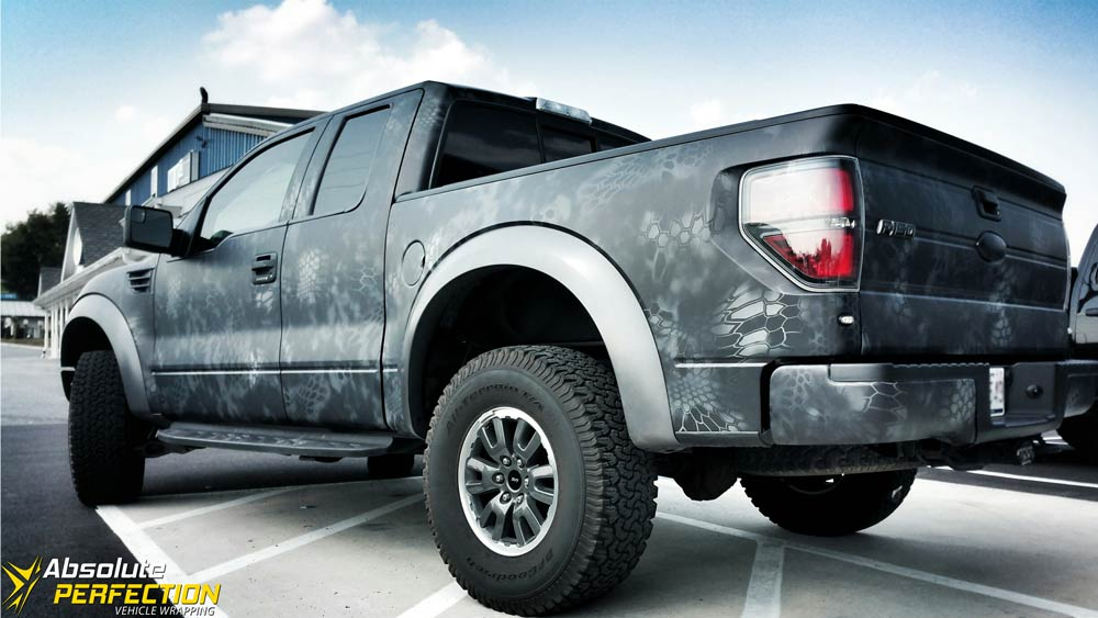 Camo ford truck wraps galleryhip com the hippest galleries