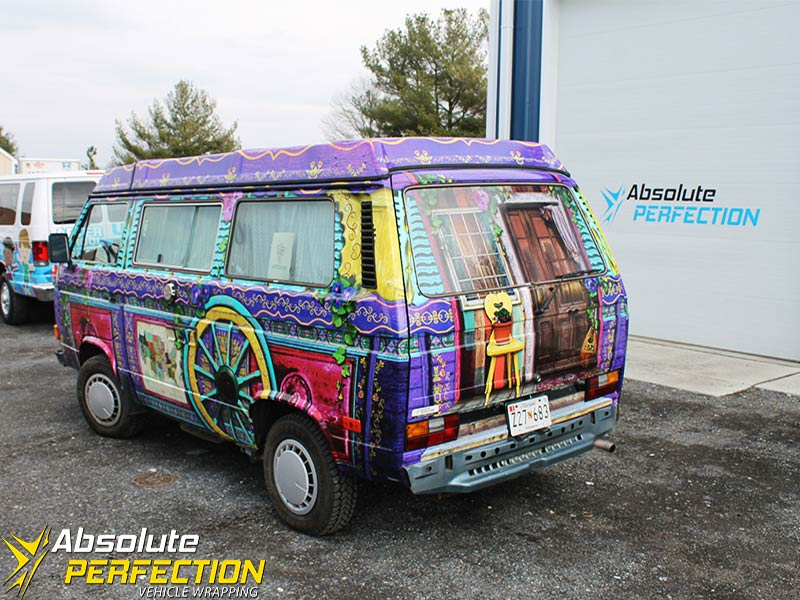 Padma S Gypsy Volkswagen Van Vehicle Wrapping