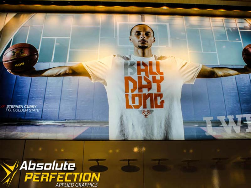Under Armour Wall Graphic