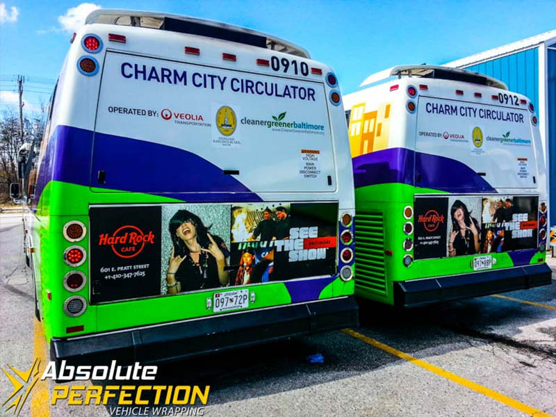 Vehicle Graphics - Box Truck Wrap - Absolute Perfection2