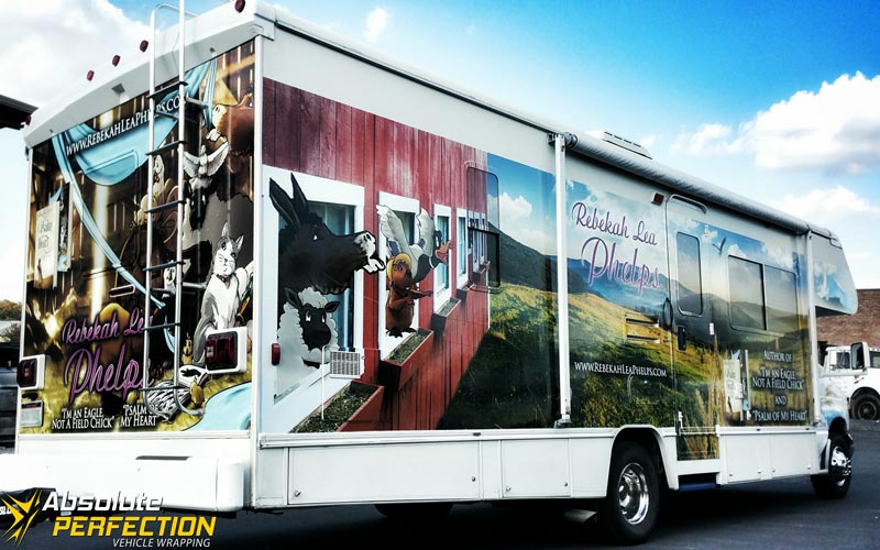 Rebekah Lea Phelps RV Wrap Absolute Perfection Vehicle Wrapping (4)