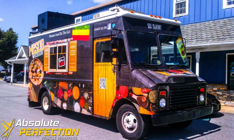 Food Truck Wraps Vehicle Wrapping