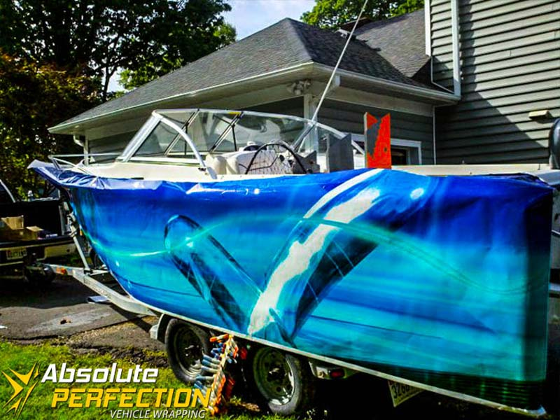 Absolute Perfection Boat Wrap Westminster Maryland