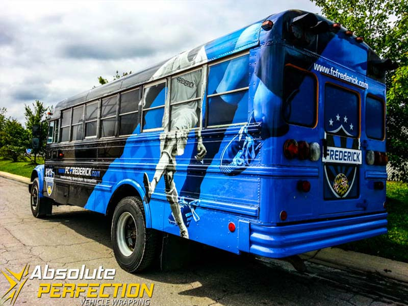 Frederick Soccer Club Bus Wrap Frederick Maryland