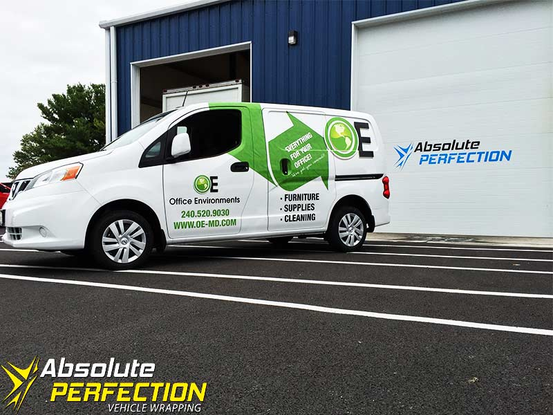 Vehicle Vinyl Graphics - Van Wrap - Absolute Perfection1
