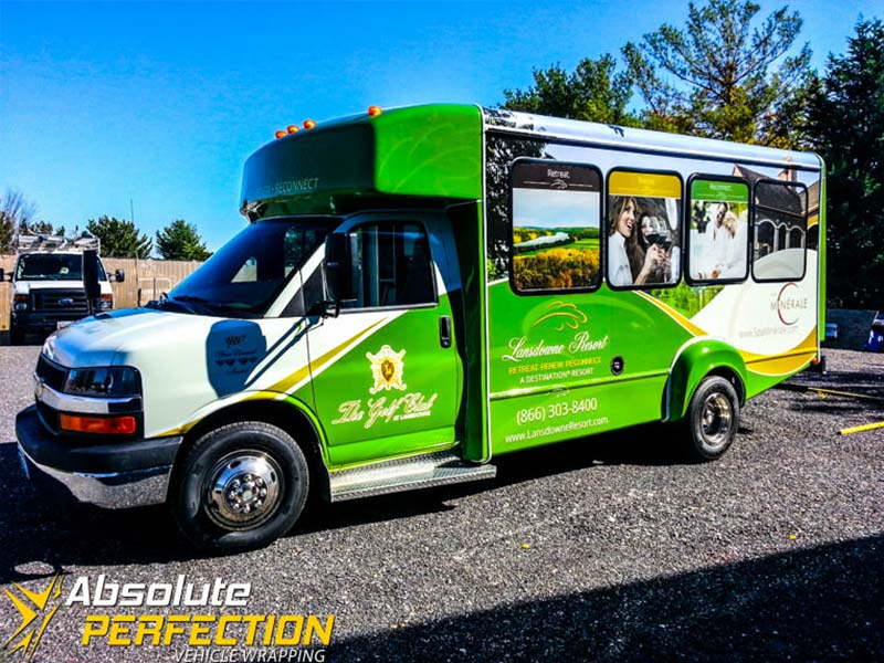 Vehicle Wrapping - Bus Wrap - Absolute Perfection