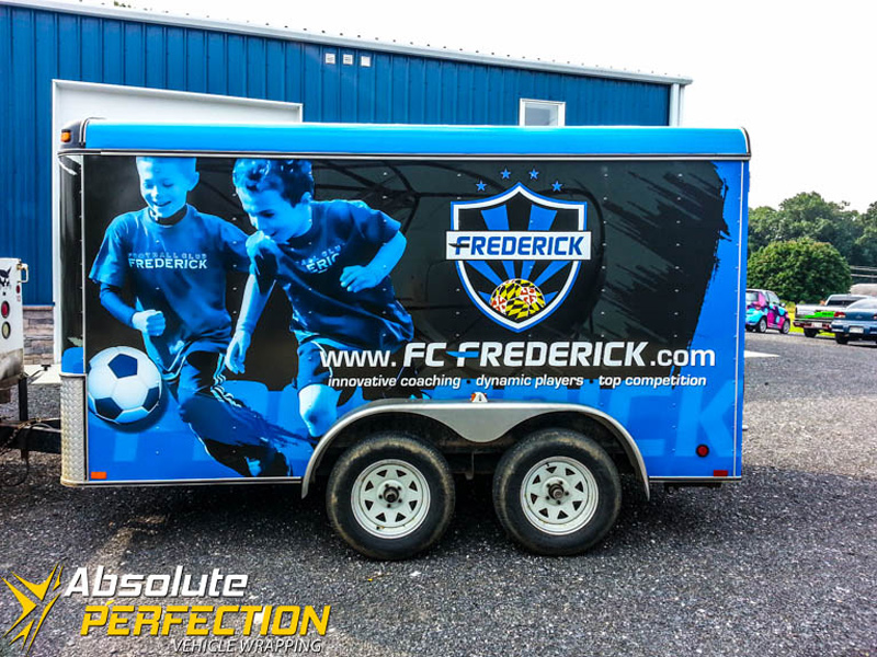 Frederick Soccer Club Trailer Wrap Frederick Maryland