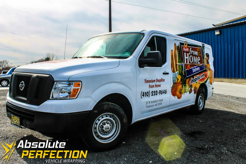 Shop Rite Grocery Delivery Vans Baltimore Maryland