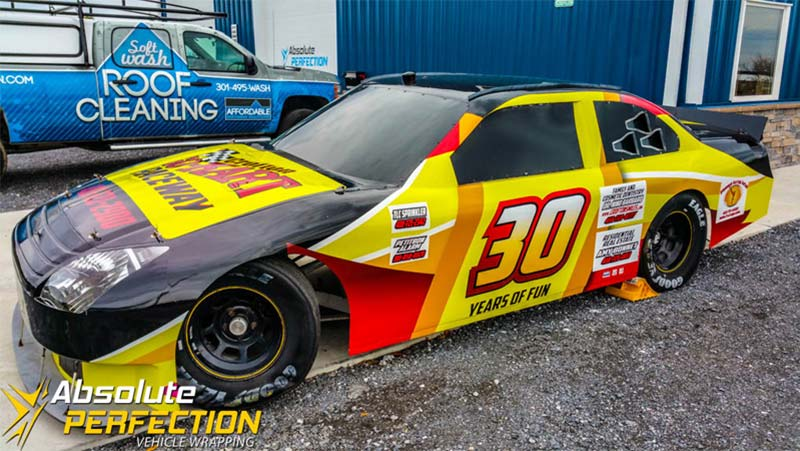 Go Kart Raceway Vehicle Wrap Ap Vehicle Wrapping