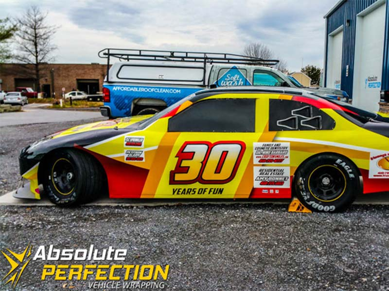 Go Kart Raceway Racecar Vehicle Wrap Absolute Perfection5