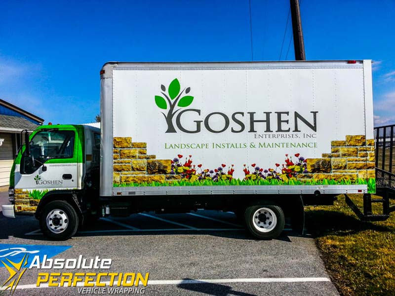 Goshen Enterprises Inc Box Truck Wrap Laytonsville