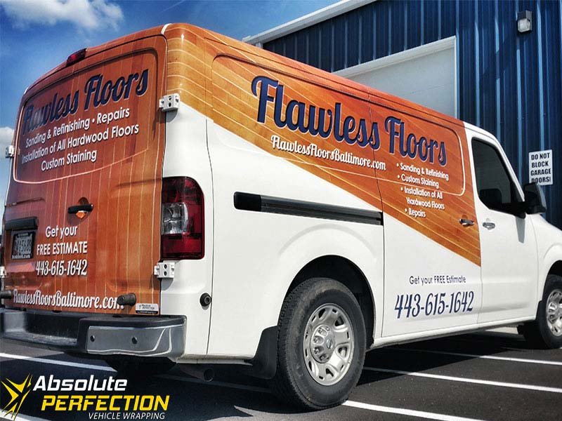 Flawless Floors Vehicle Wrap Absolute Perfection2