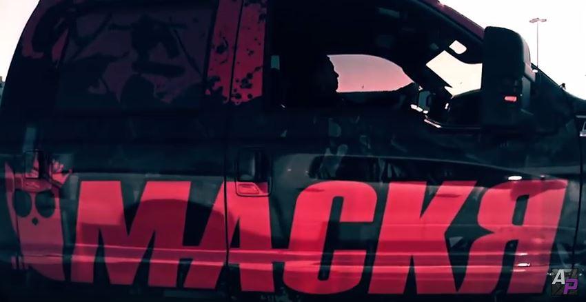 mackr ford f350 truck wrap