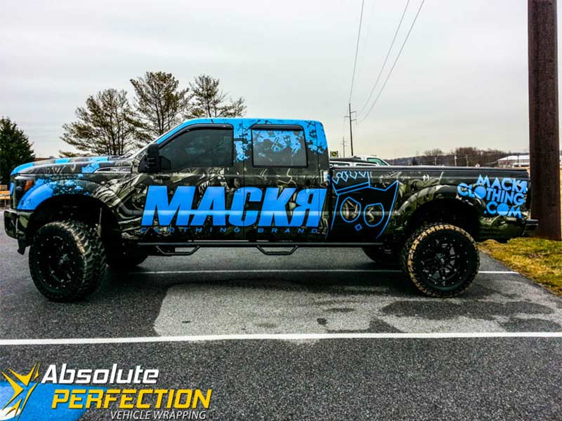 Car Graphics - Pickup Truck Wraps - Absolute Perfection