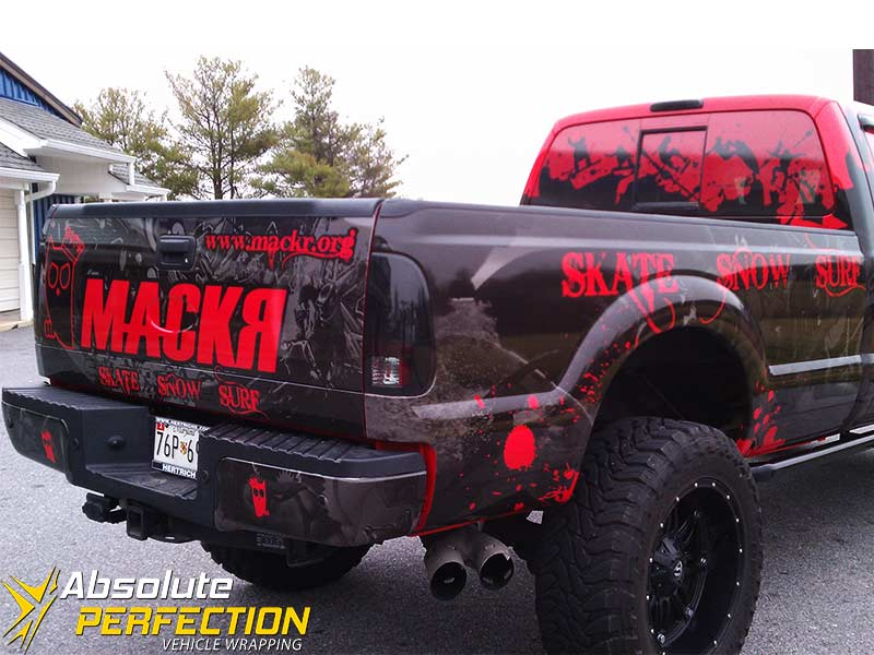 Mackr Truck Wrap Kent County Maryland