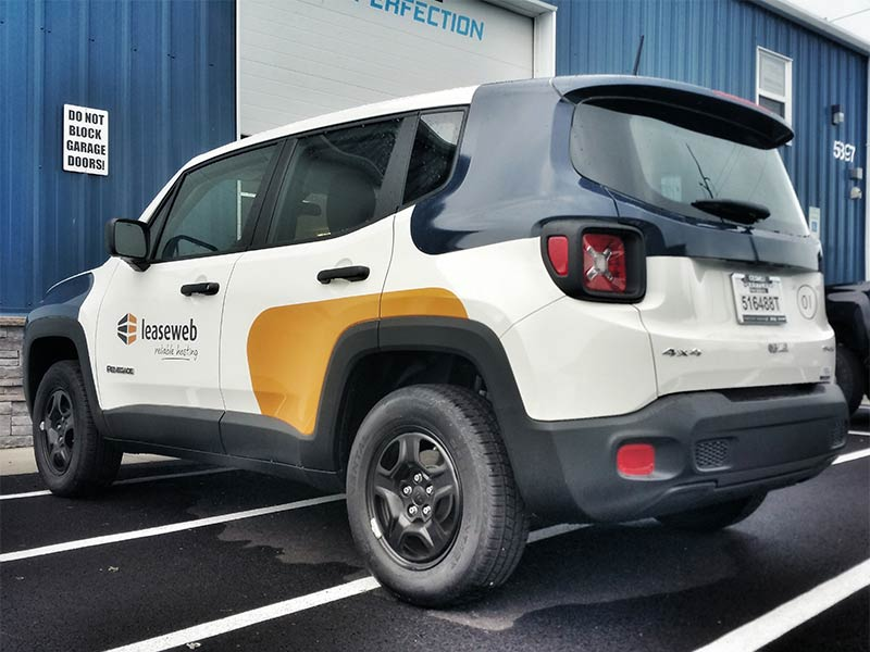 Lease Web Jeep Renegade Vehicle Wrap Vehicle Wrapping