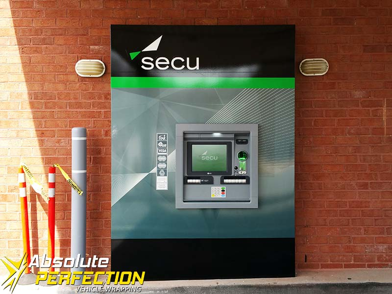 Secu ATM Wrap Salisbury Maryland