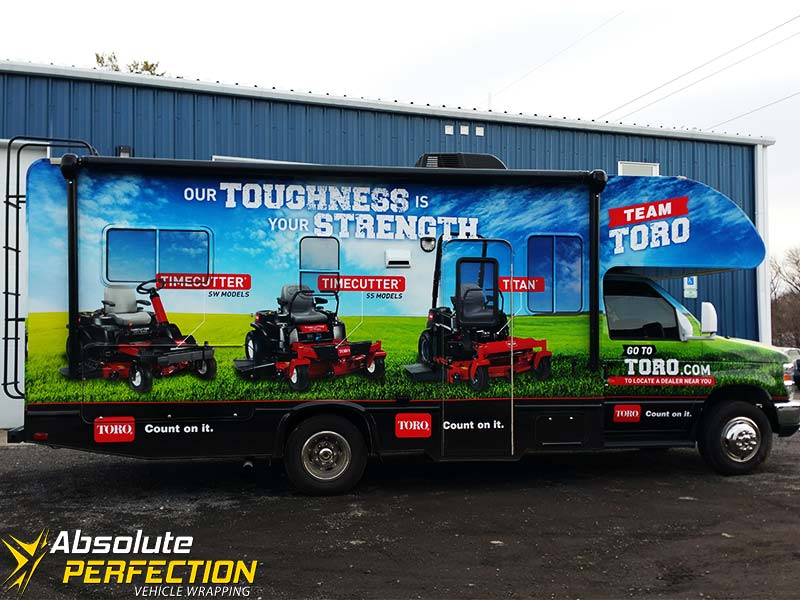 Vehicle Wrapping - Vinyl Graphics - Absolute Perfection - Toro