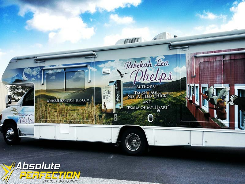Rebekah Lea Phelps RV Wrap Absolute Perfection Vehicle Wrapping (3)