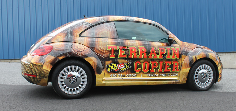 Vehicle Wrapping Feature Terrapin Copier