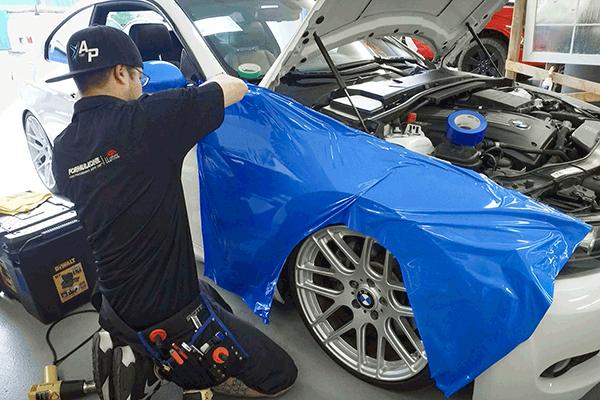 Blue-Gloss-Vehicle-Wrap