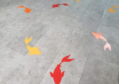 Help Customers Navigate Your Building with Floor Graphics