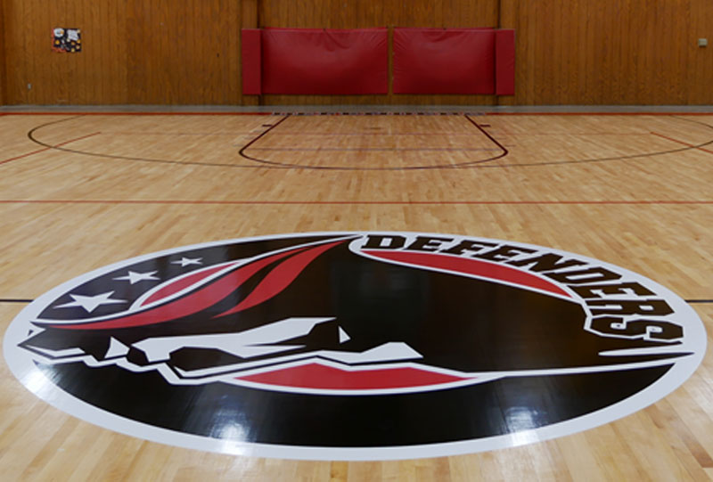 Floor Graphics and Floor Logos