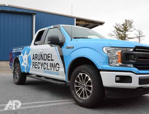Arundle Recycling Truck Advertising Wrap