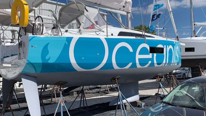 Beneteau Oceanis 30 1 With New Boat Wrap In Annapolis Ap