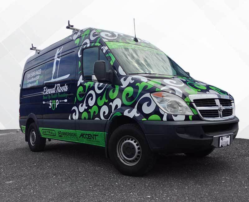 Advertising Wrap Promaster Van full