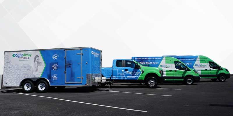 Advertising fleet wrap Van Truck Trailer