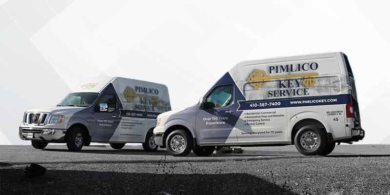 Baltimore Maryland Advertising fleet wrap Nissan Cargo Van