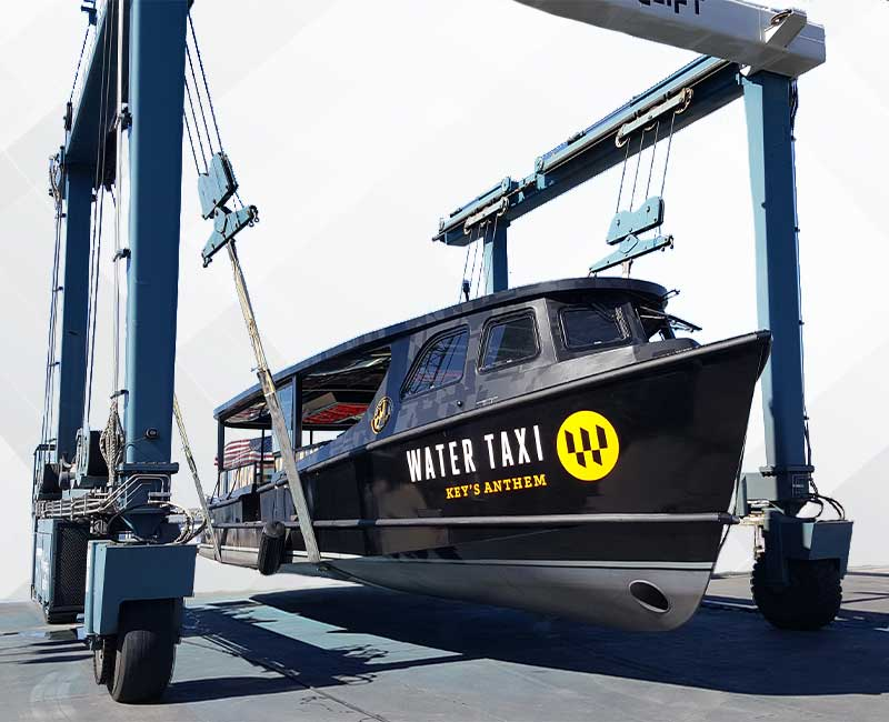 Baltimore boat wraps Water Taxi