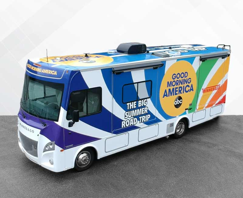 Chevy Chase RV Wraps Good Morning America