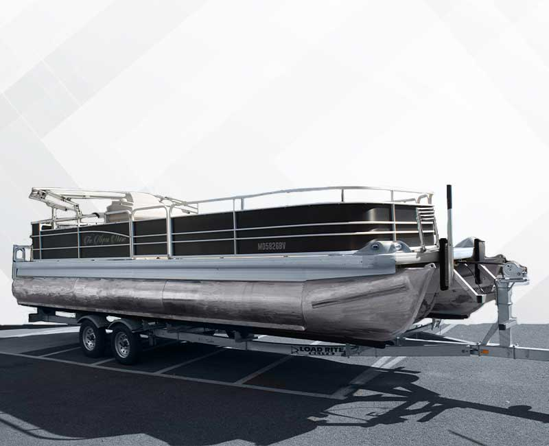 Custom Pontoon Boat Wrap
