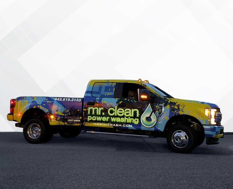 advertisement vehicle reflective vinyl graphics