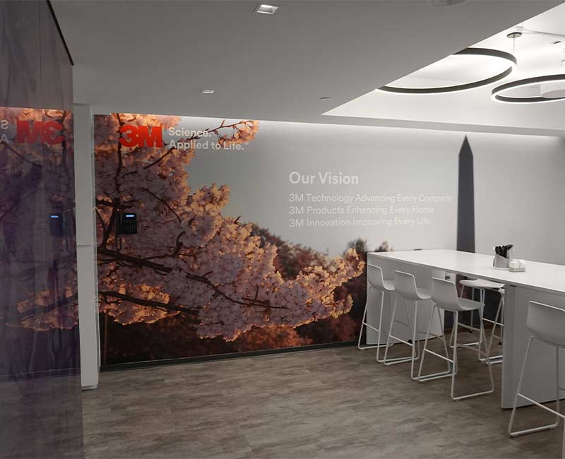 commercial wall mural graphics DC
