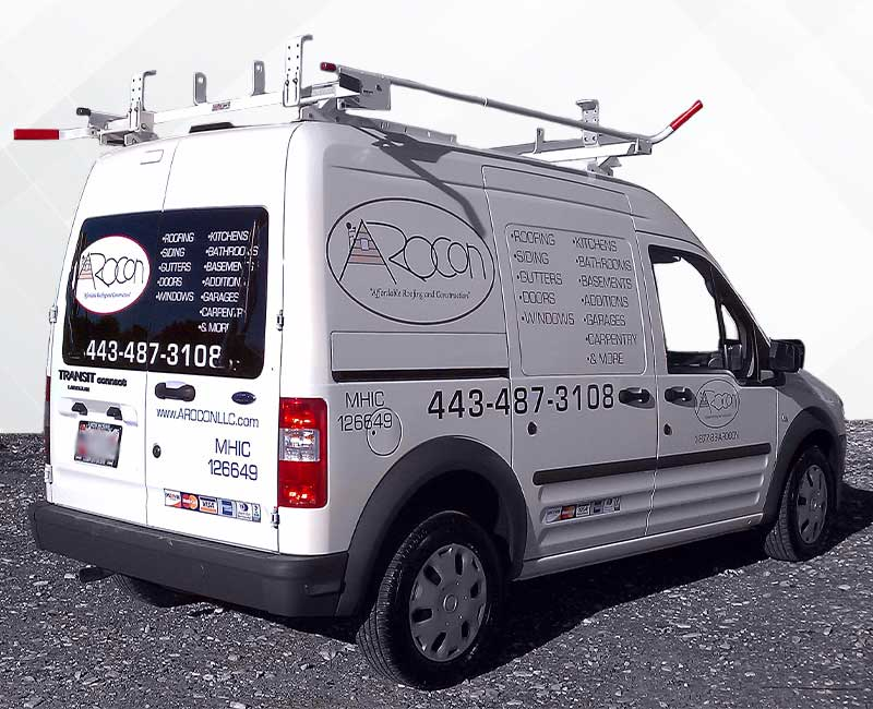 lettering vehicle advertisement ford transit