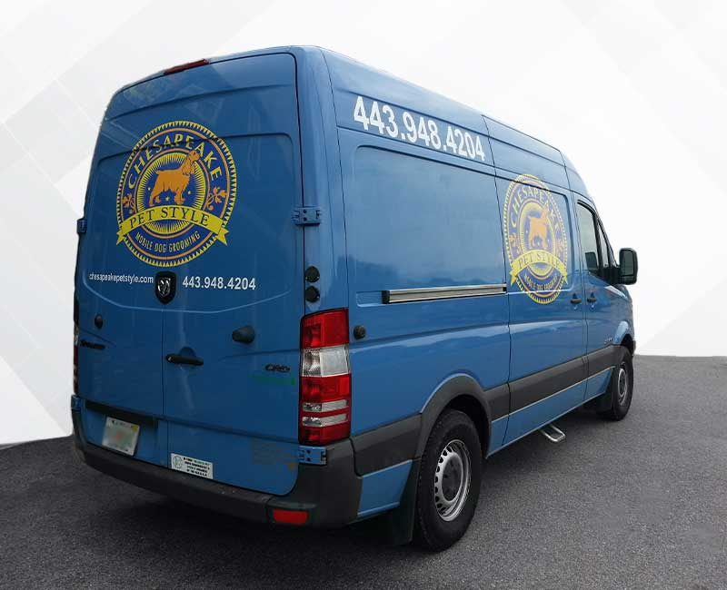 logo lettering vehicle advertisement ram promaster